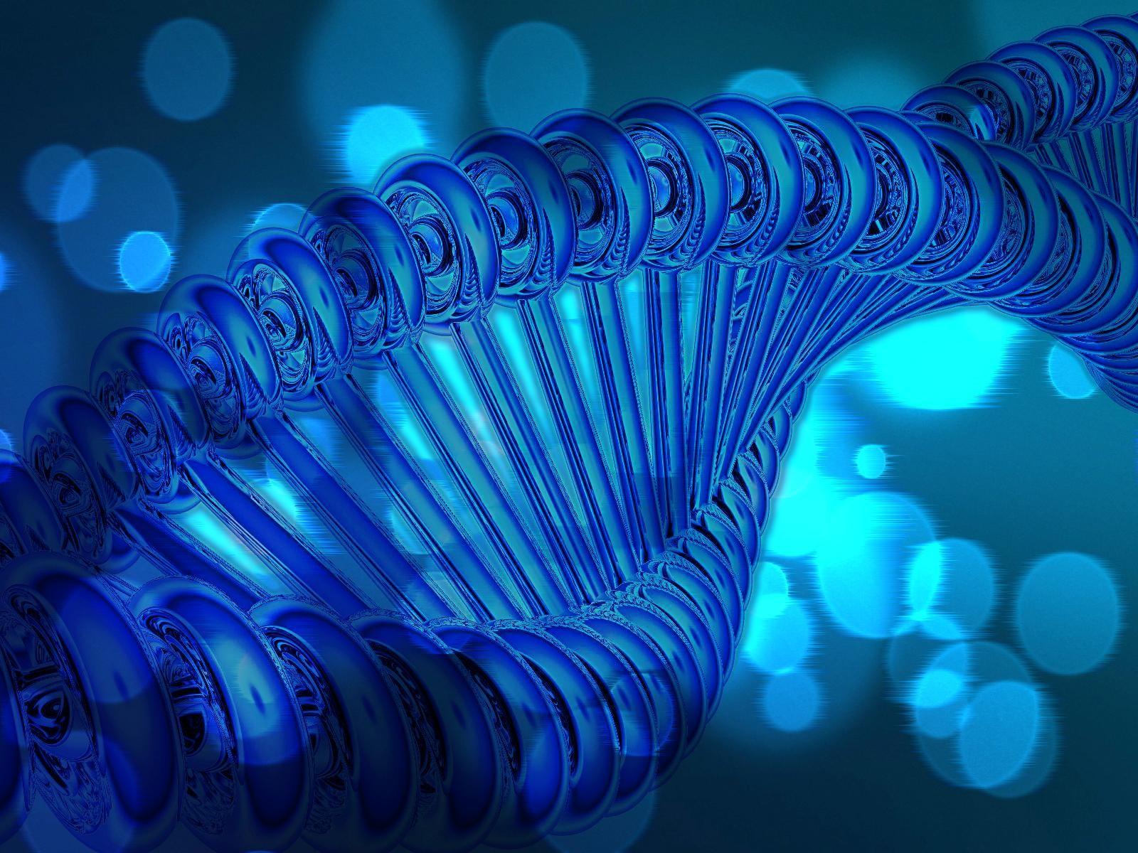 Blue DNA Wallpaper 1600x1200 Blue DNA 1600x1200