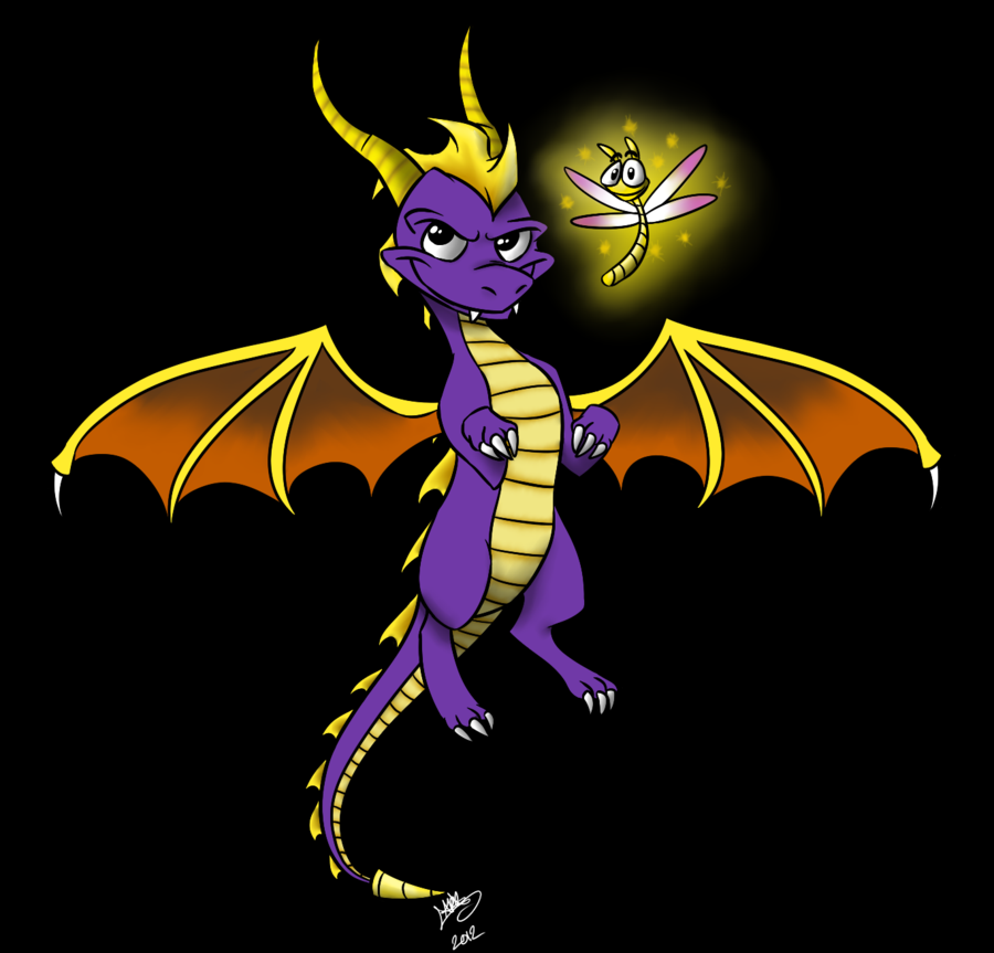 Spyro The Dragon 1998 Wallpaper The most badass dragon ever by