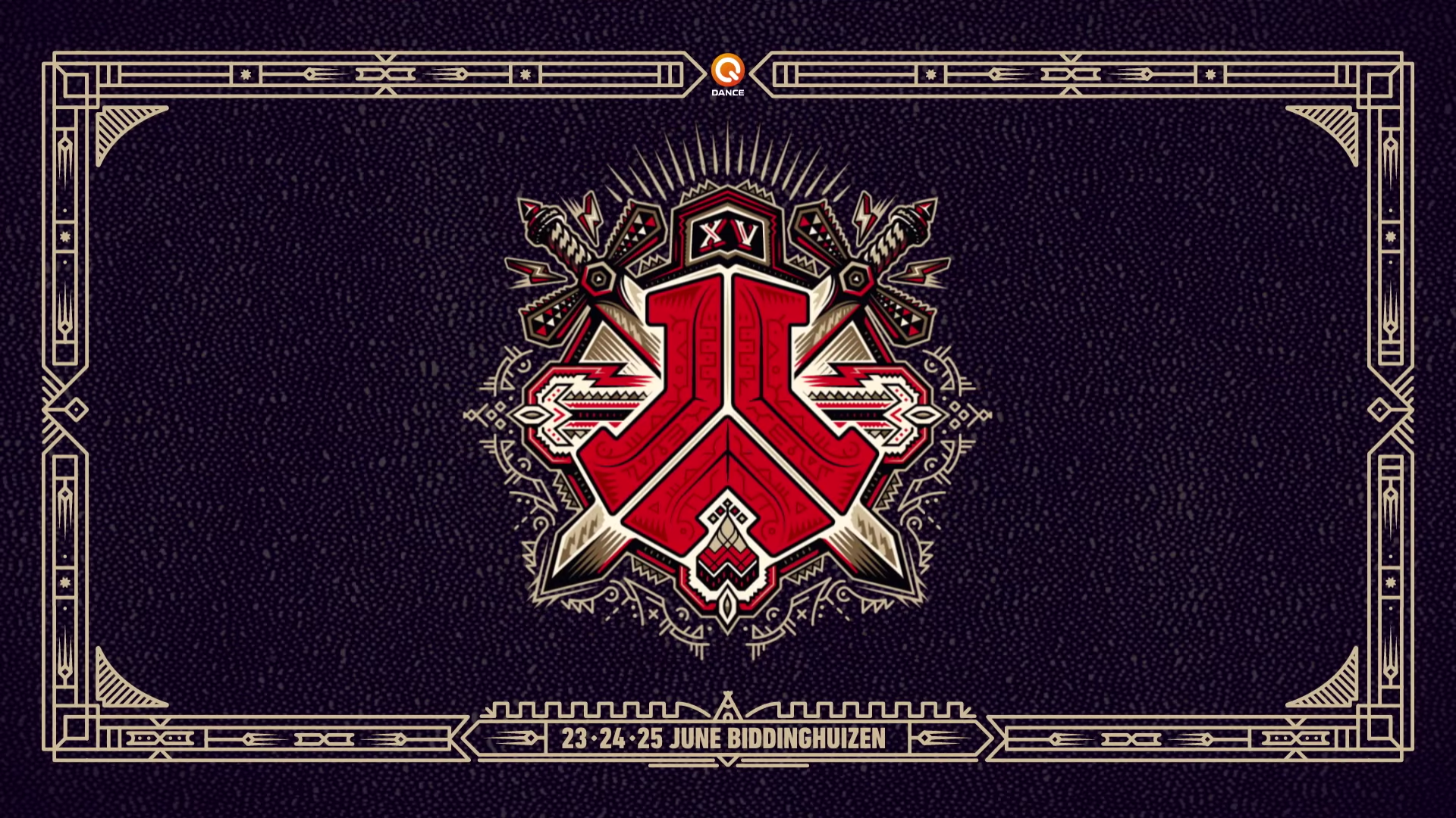 DEFQON1 2017 logo wallpaper hardstyle 1920x1080