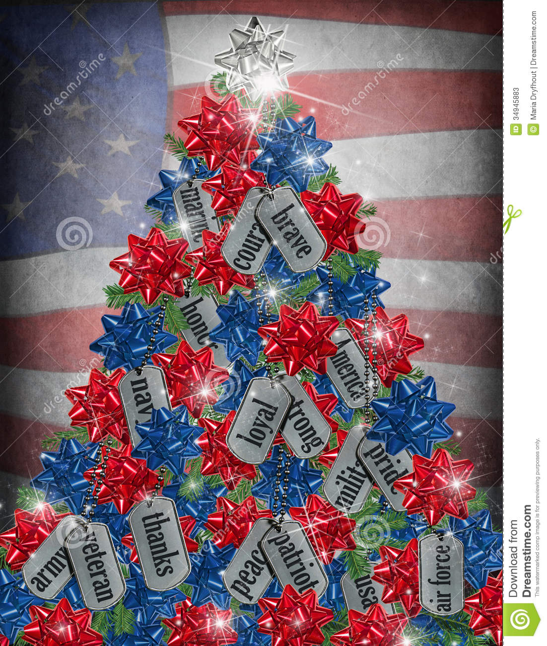 patriotic christmas wallpaper