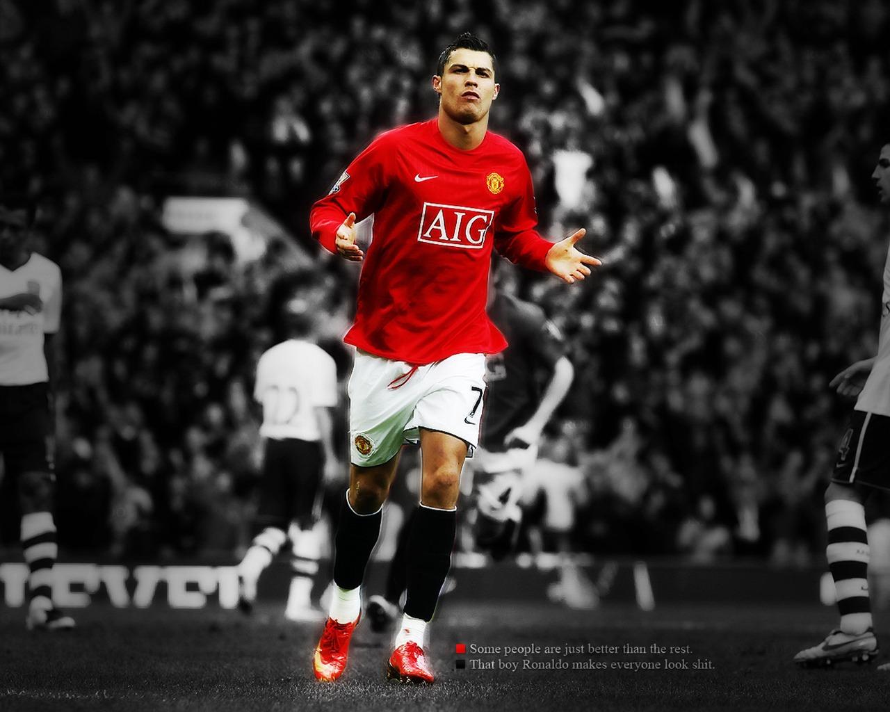 Football Cristiano Ronaldo Wallpaper 1280x1024