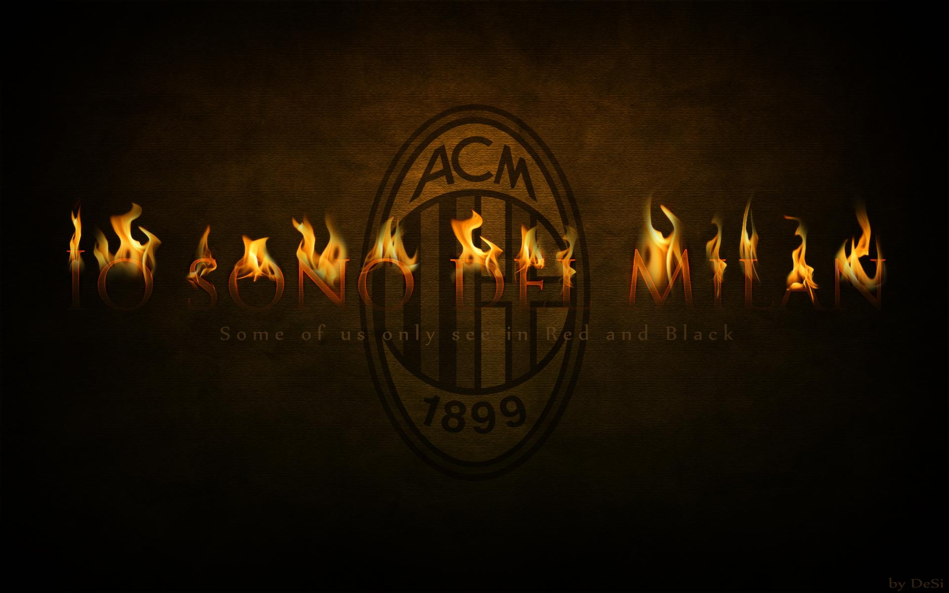 AC Milan wallpaper by DeSi Mitova 1920x1200