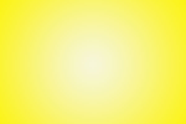 am filling with a radial gradient of a light yellow to bright yellow 600x400