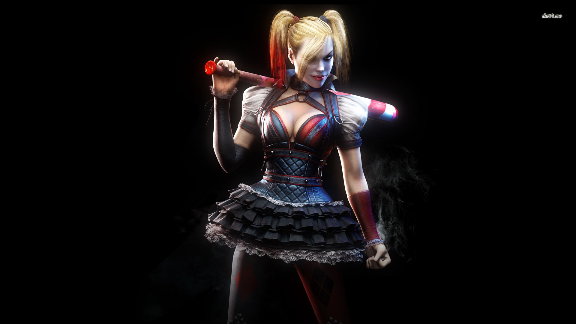 Free Download Harley Quinn Arkham Knight Wallpaper 1920x1080 For