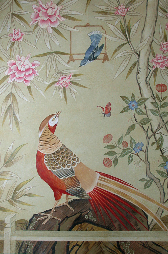 Lets keep it wild French from Chinese chinoiserie 665x1001