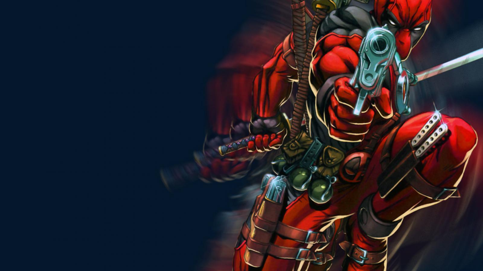 Deadpool wade wilson marvel comics wallpaper HQ WALLPAPER   176253 1600x900