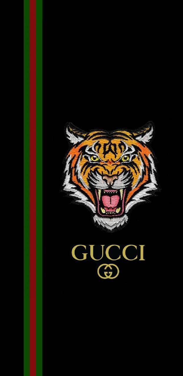 Gucci tiger Arts I love in 2019 Nike wallpaper Tiger 623x1280
