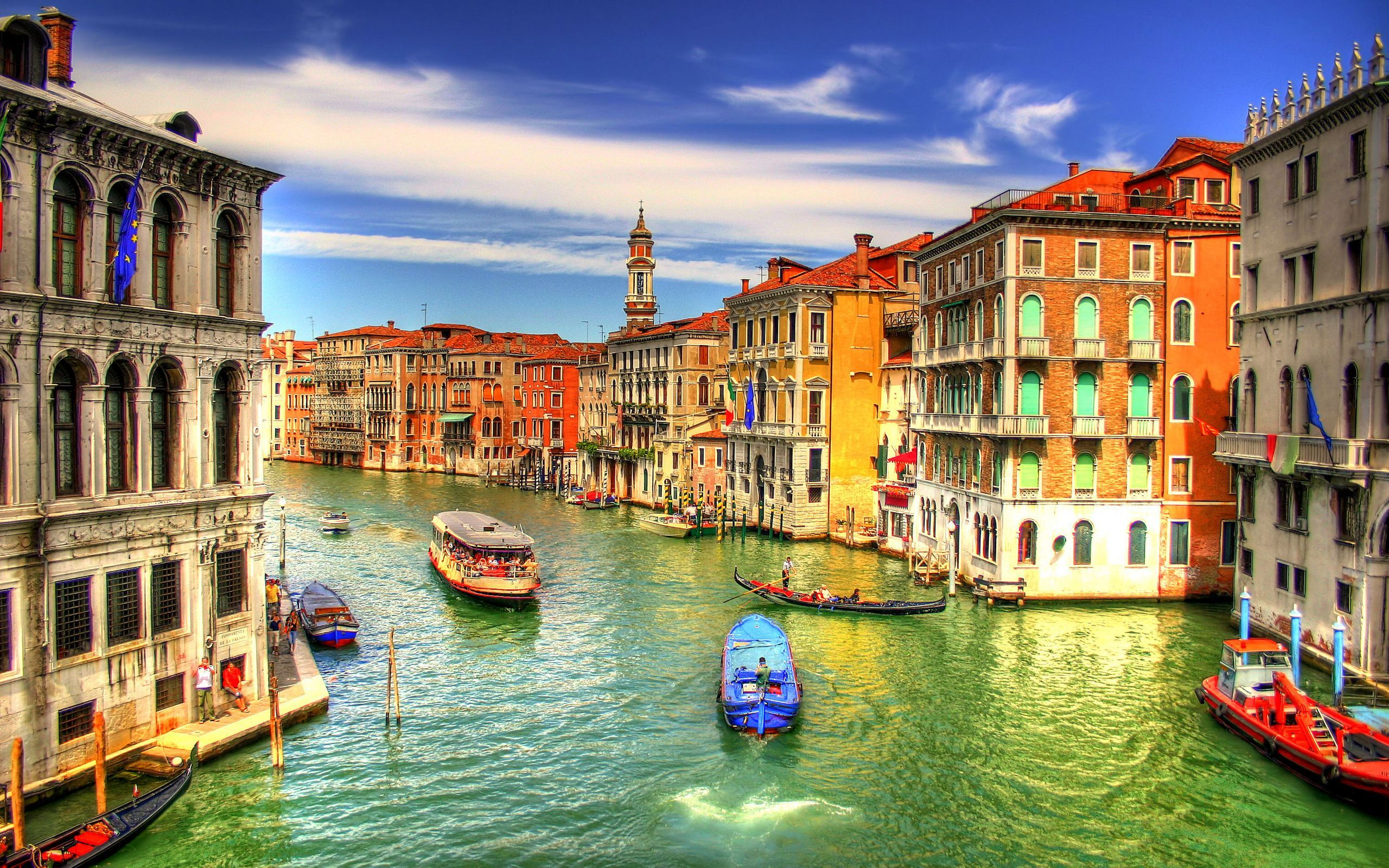 Venice Italy Screensavers background Wallpaper 2560x1600