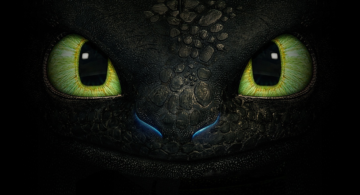 Image for How To Train Your Dragon 2 Night Fury Toothless Wallpaper 1235x670