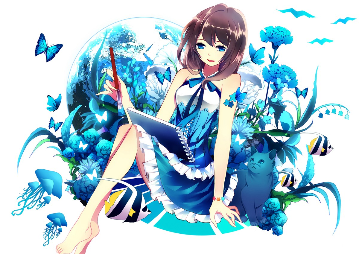 rate select rating give blue anime girl 1 5 give blue anime 1200x849