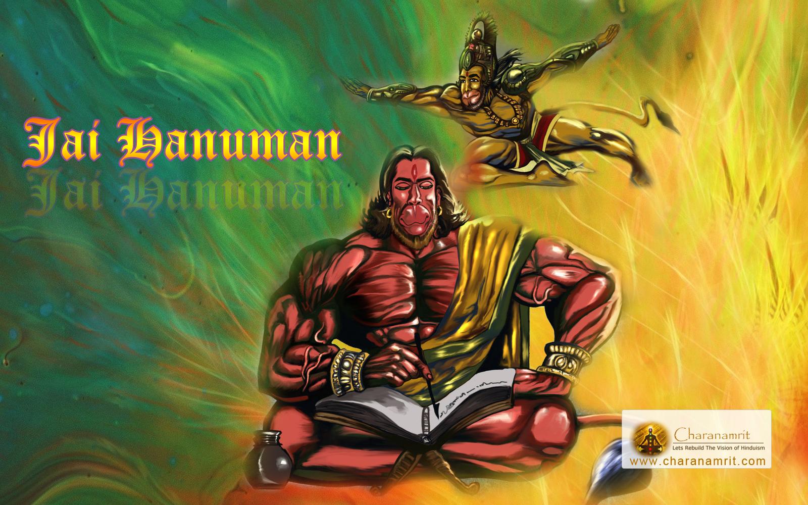 Jai God Hanumana awesome 3D HD Wallpaper for download Hanumana 1600x1000