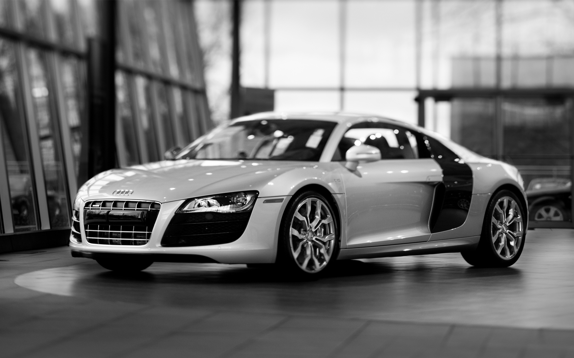 Audi R8 v10 FSI Coupe Wallpaper HD Car Wallpapers 1920x1200