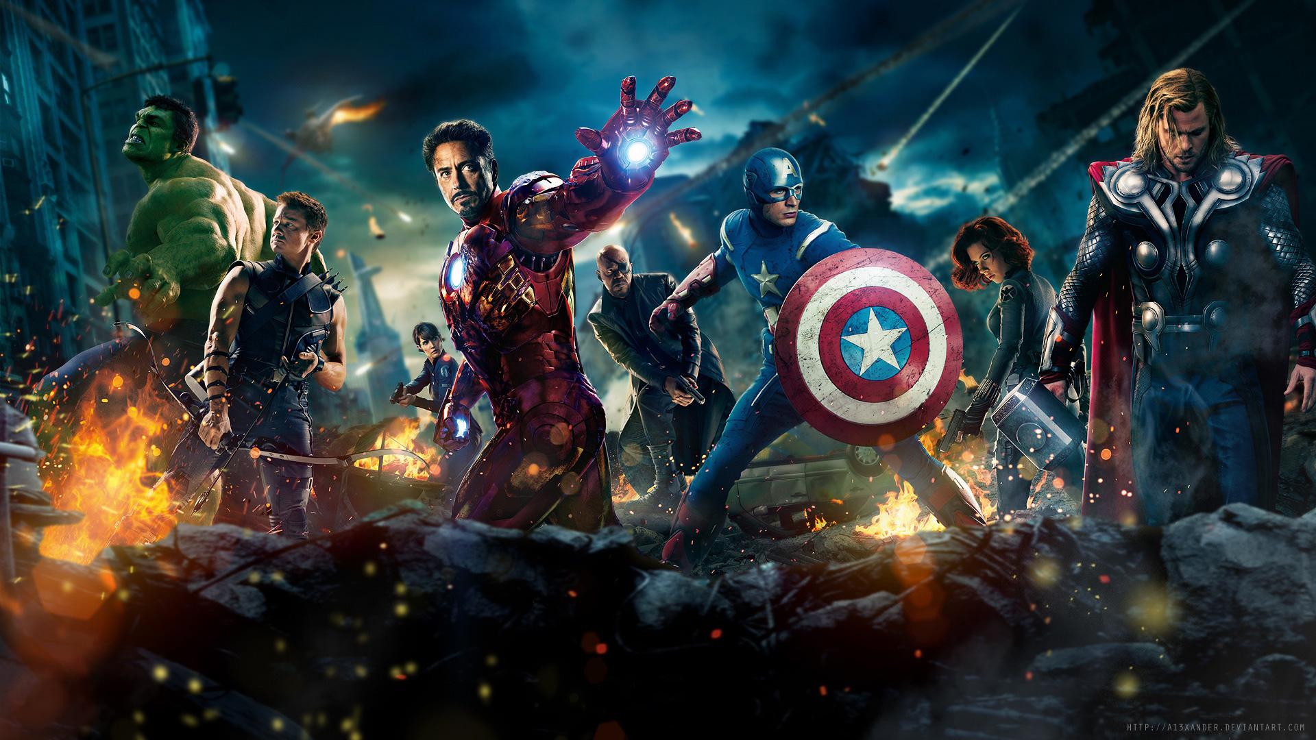 Avengers Full HD Wallpapers download 1080p desktop backgrounds 1920x1080