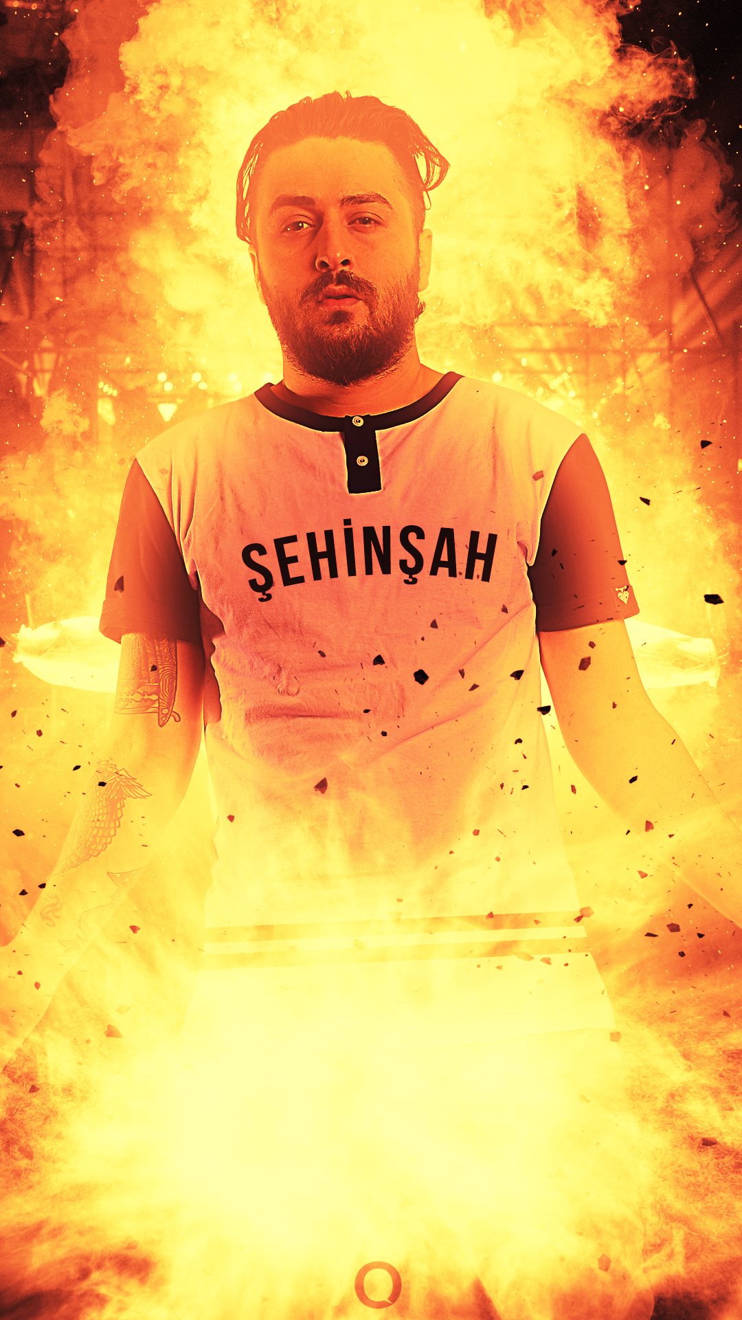 Sehinsah Turkish Rapper   Mobile Wallpaper   Rap RoyaltyCom 1080x1920