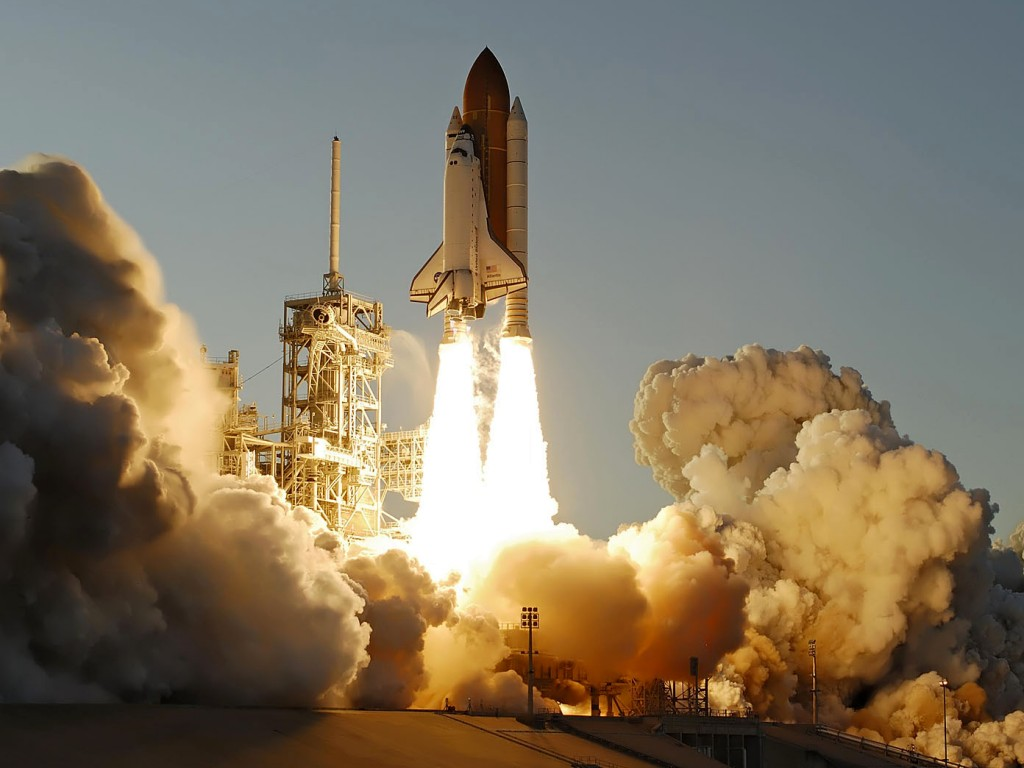 Atlantis Space Shuttle Last Launch By NASA 2011 by cool wallpapers