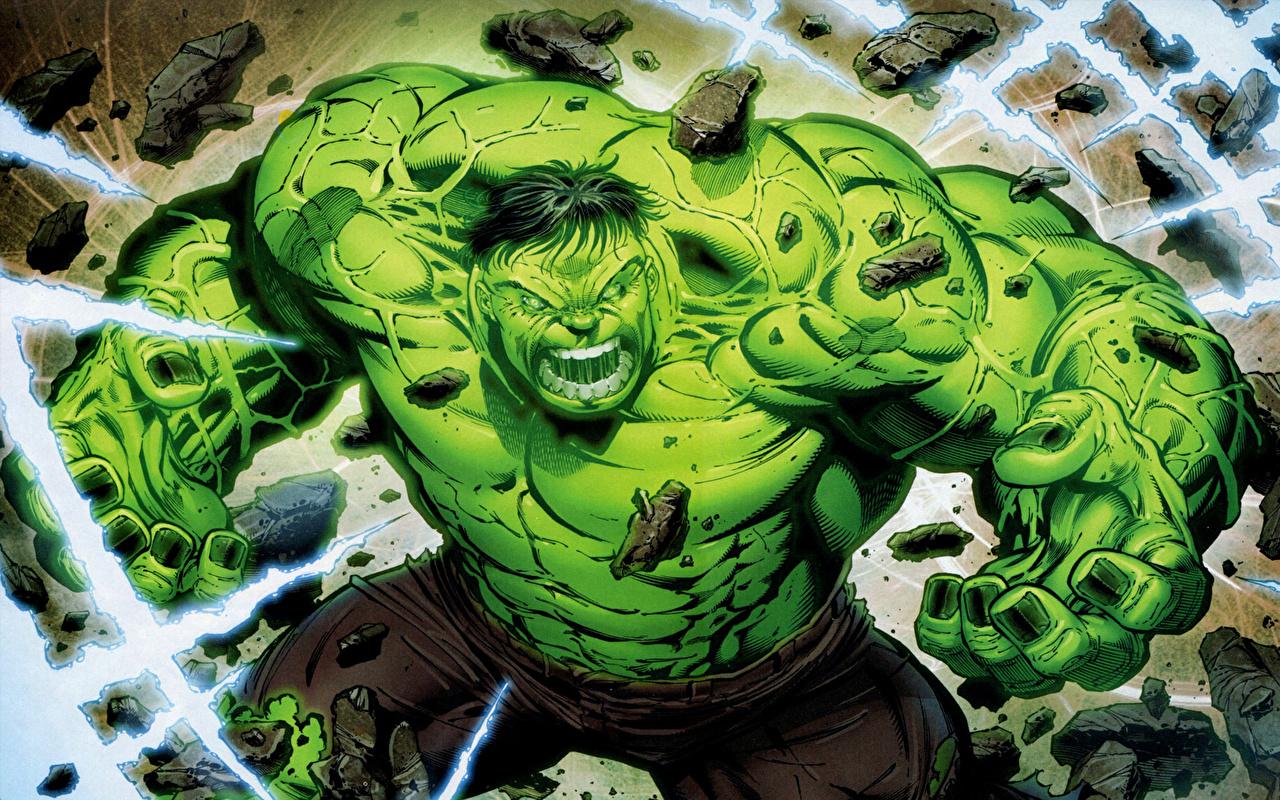 Wallpapers Heroes comics Hulk hero Fantasy 1280x800