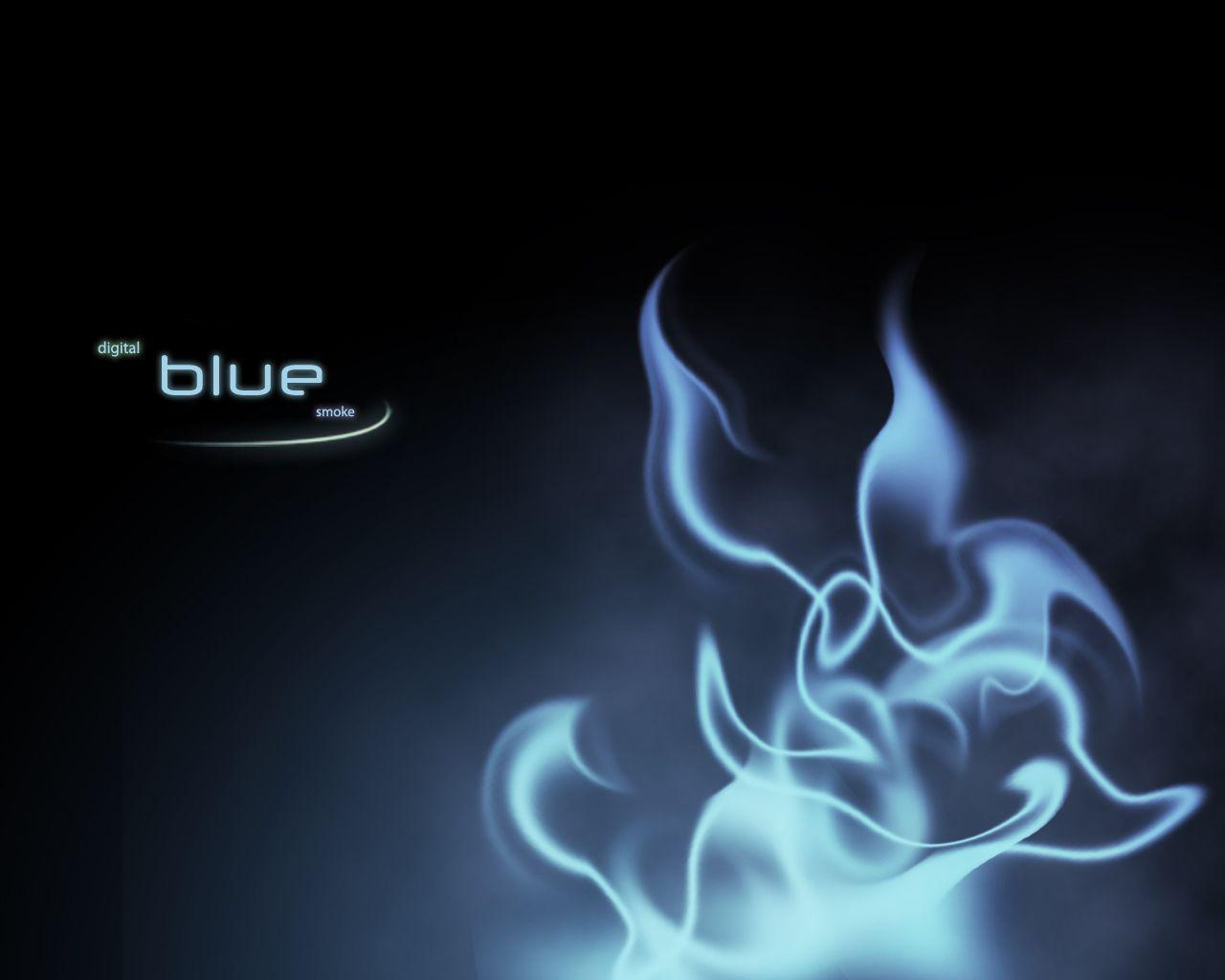 Blue Smoke Wallpapers 1280x1024
