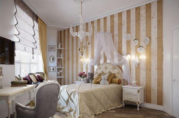 49 Gold Wallpaper Bedroom On Wallpapersafari