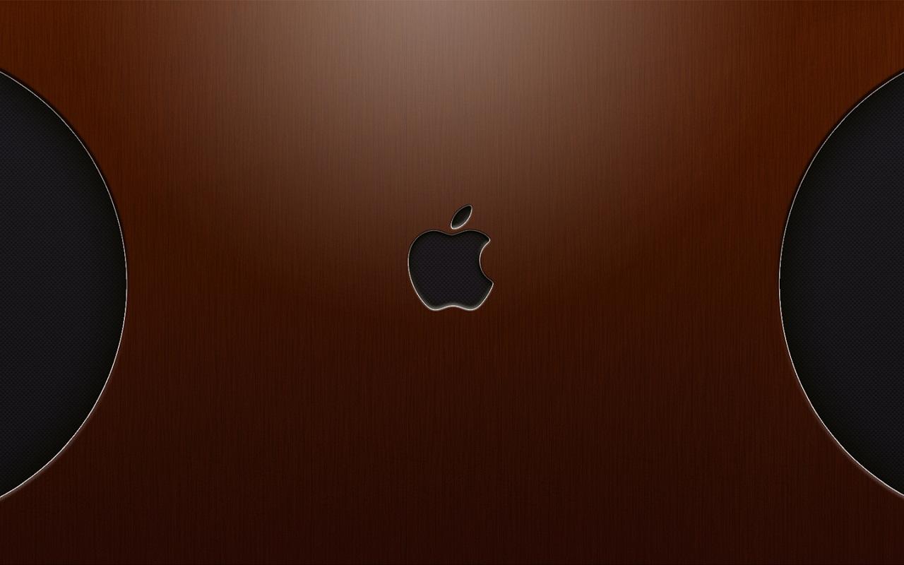 Wallpaper de Apple Wood 3Dfondo Wallpaper de Apple Wood 3Dfondo 1280x800
