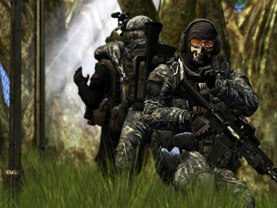 50 Call Of Duty Modern Warfare 2 Hd Wallpapers On Wallpapersafari