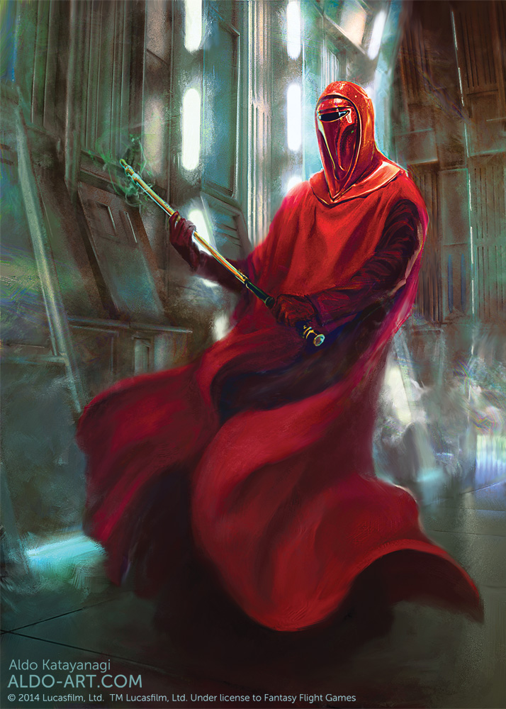 Star Wars Imperial Guard by AldoK 714x1000