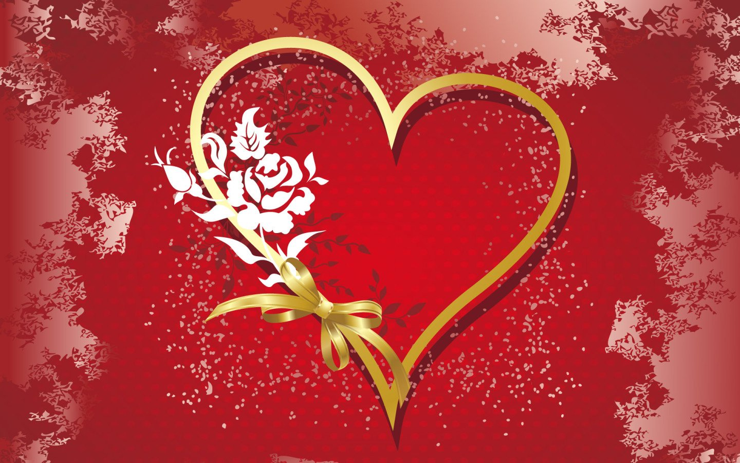 Valentine Hearts Wallpaper Love Heart Wallpapers Valentines Day 1440x900