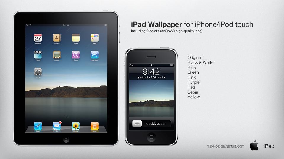 iPad Original Wallpaper by filipe ps 960x540