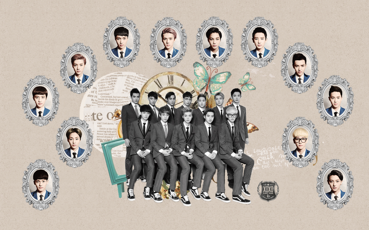 Download Exo Comeback 2013 Wallpaper in high quality wallpaper 1280x800