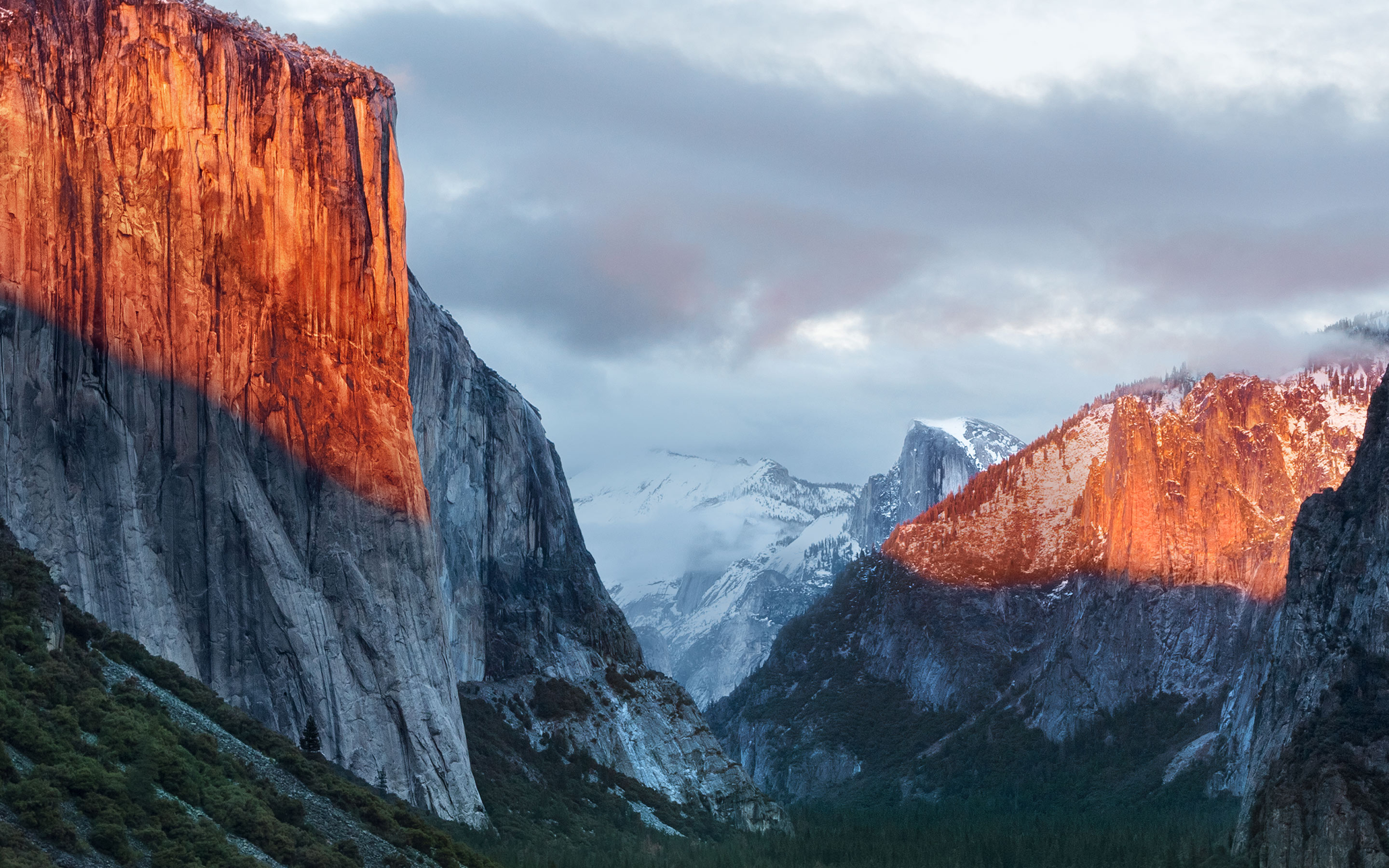 Official OS X El Capitan wallpaper for iPhone iPad desktop 2880x1800