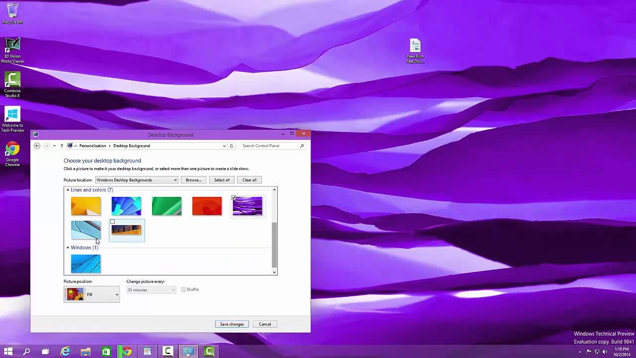 Windows 10 Preview Desktop Backgrounds 1280x720