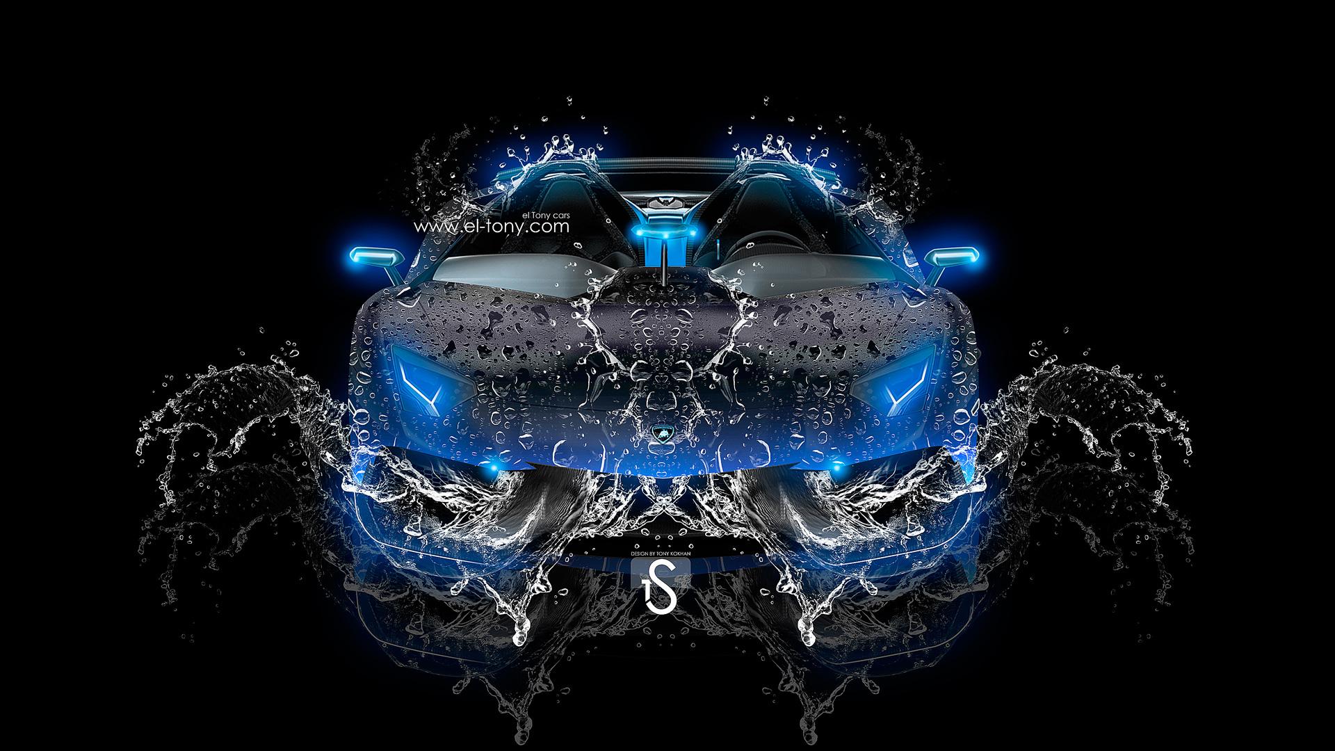 Car 2013 Blue Neon HD Wallpapers by Tony Kokhan [wwwel tonycom 1920x1080