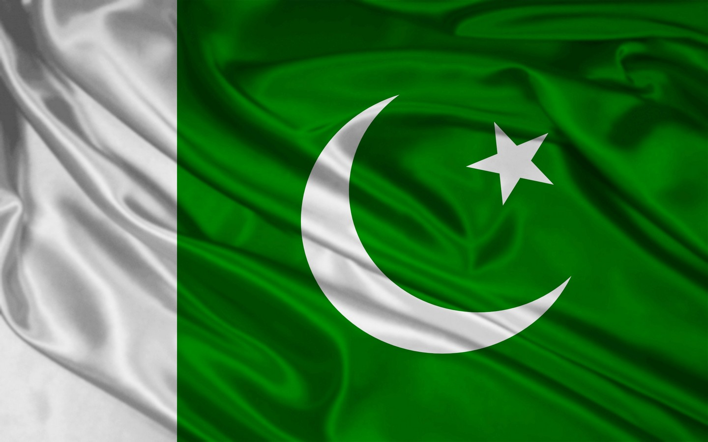 Graafix Graphics Wallpapers flag of Pakistan 1440x900