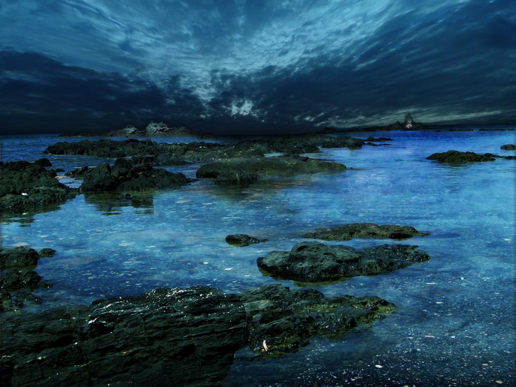 Earth   Seascape Wallpaper 1024x768