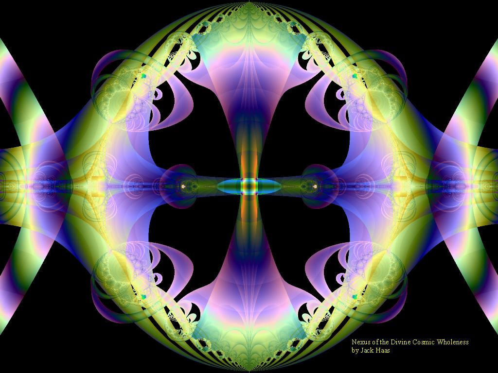 Cosmic Art Gallery   desktop wallpaper   Nexus of the Divine 1024x768