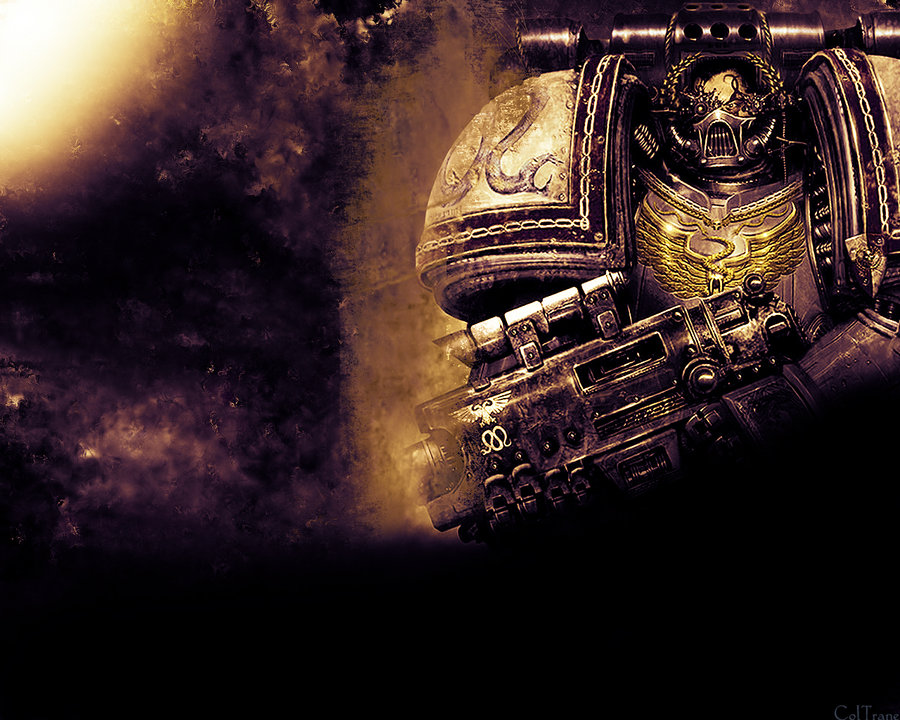 Warhammer 40K Soldier by ColTrane11 900x720