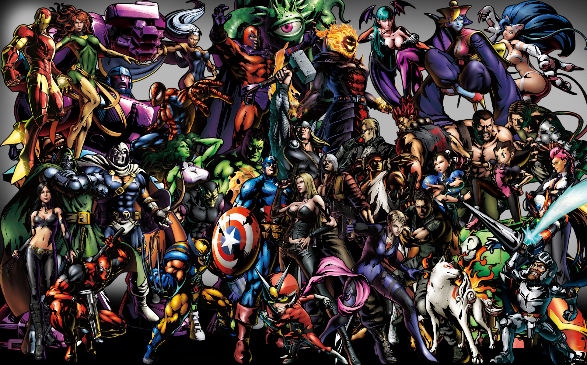 heroes dc All and marvel