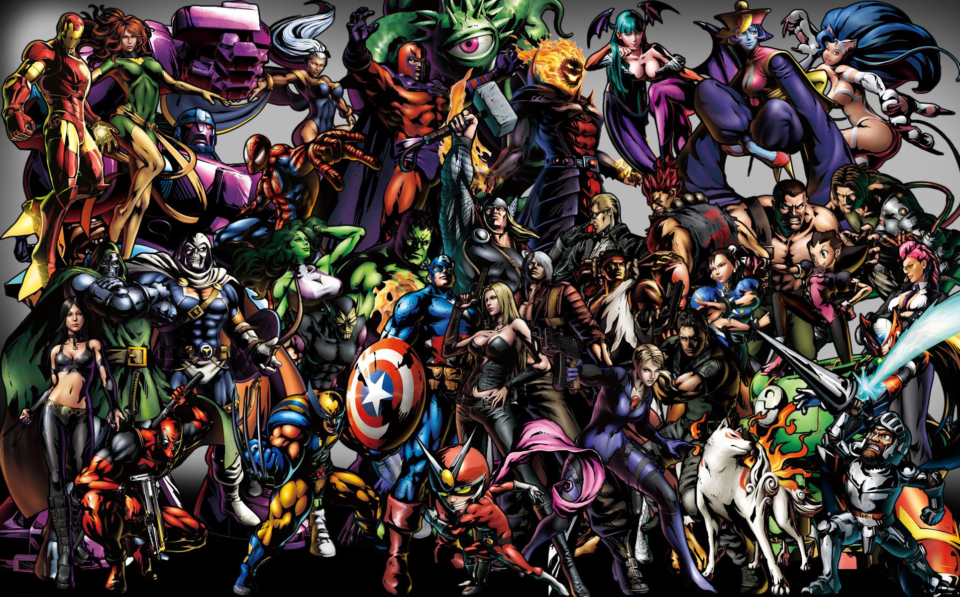 All Marvel Characters Wallpaper - WallpaperSafari
