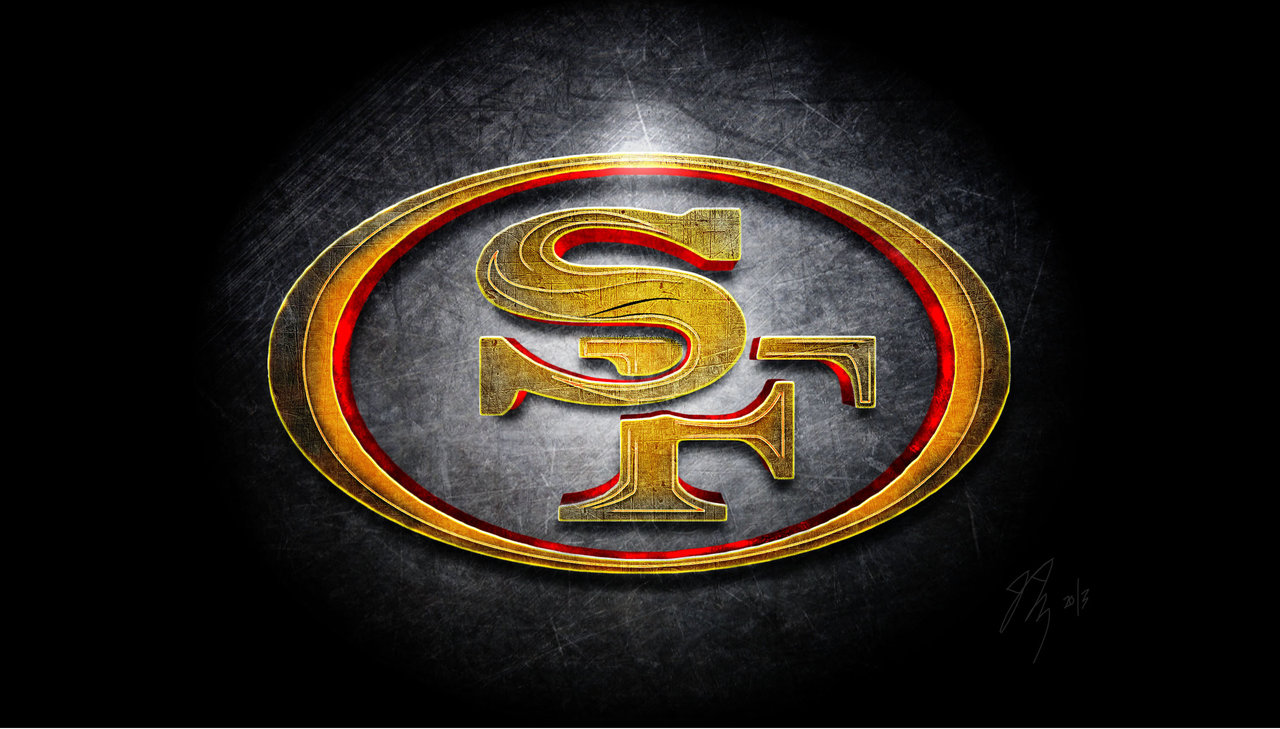 San Francisco 49ers Logo Men of Gold by DonZellini 1280x729