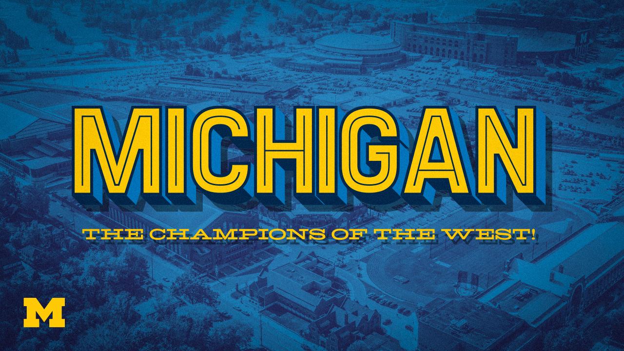 Michigan Athletics Zoom Backgrounds   University of Michigan Athletics 1280x720