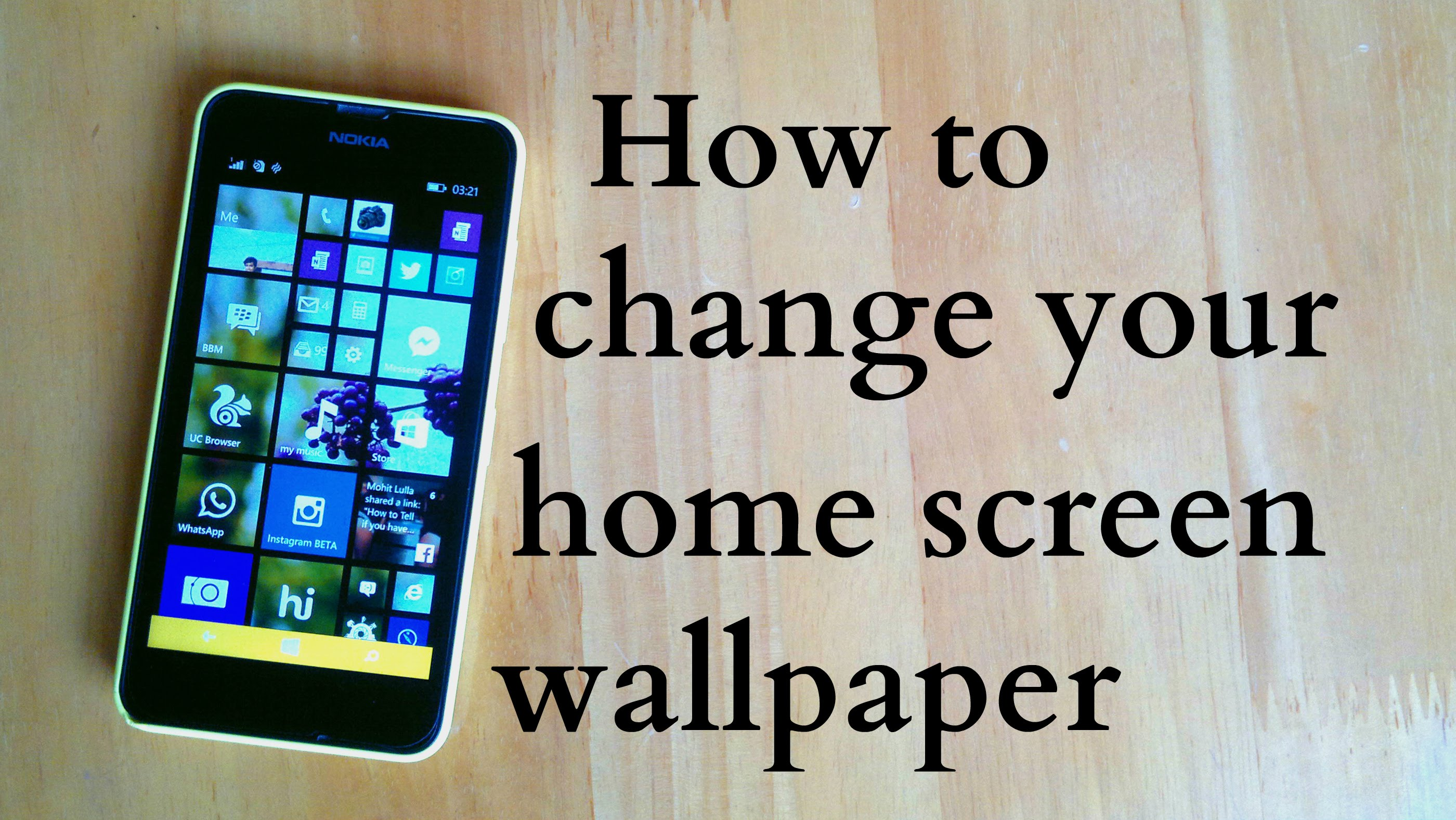How to change your Home screen wallpaper in Windows 81 2800x1577