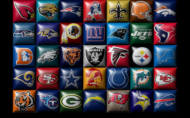Nfl Teams Logos 2014 All Nfl Team Logos 2014 640x400