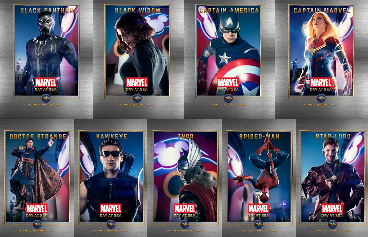Disney Parks Blog Releases Mobile Wallpapers Featuring Marvel Day 1200x773