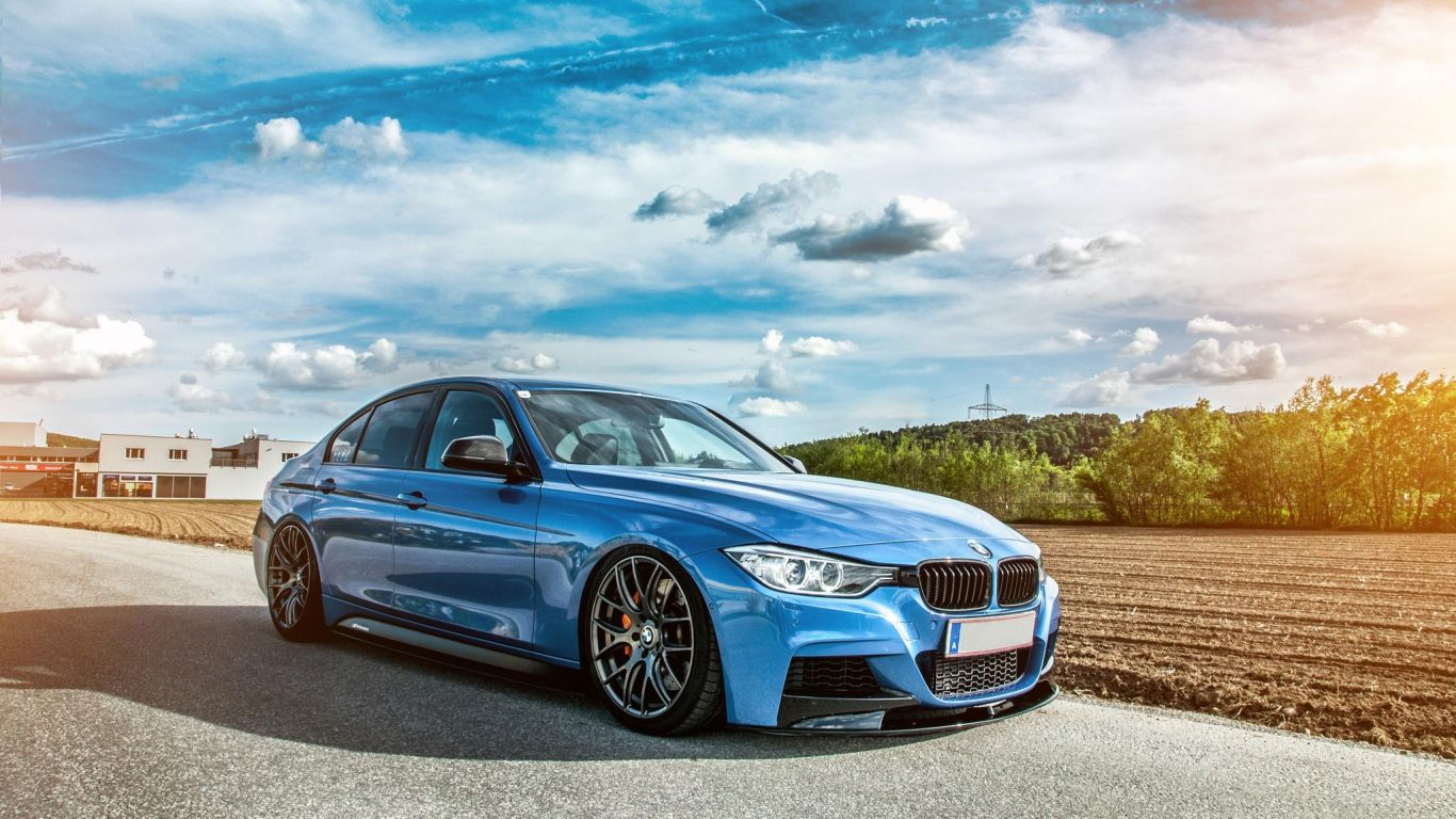 1366x768 Wallpaper bmw f30 335i tuning stance Bmw wallpapers 1366x768