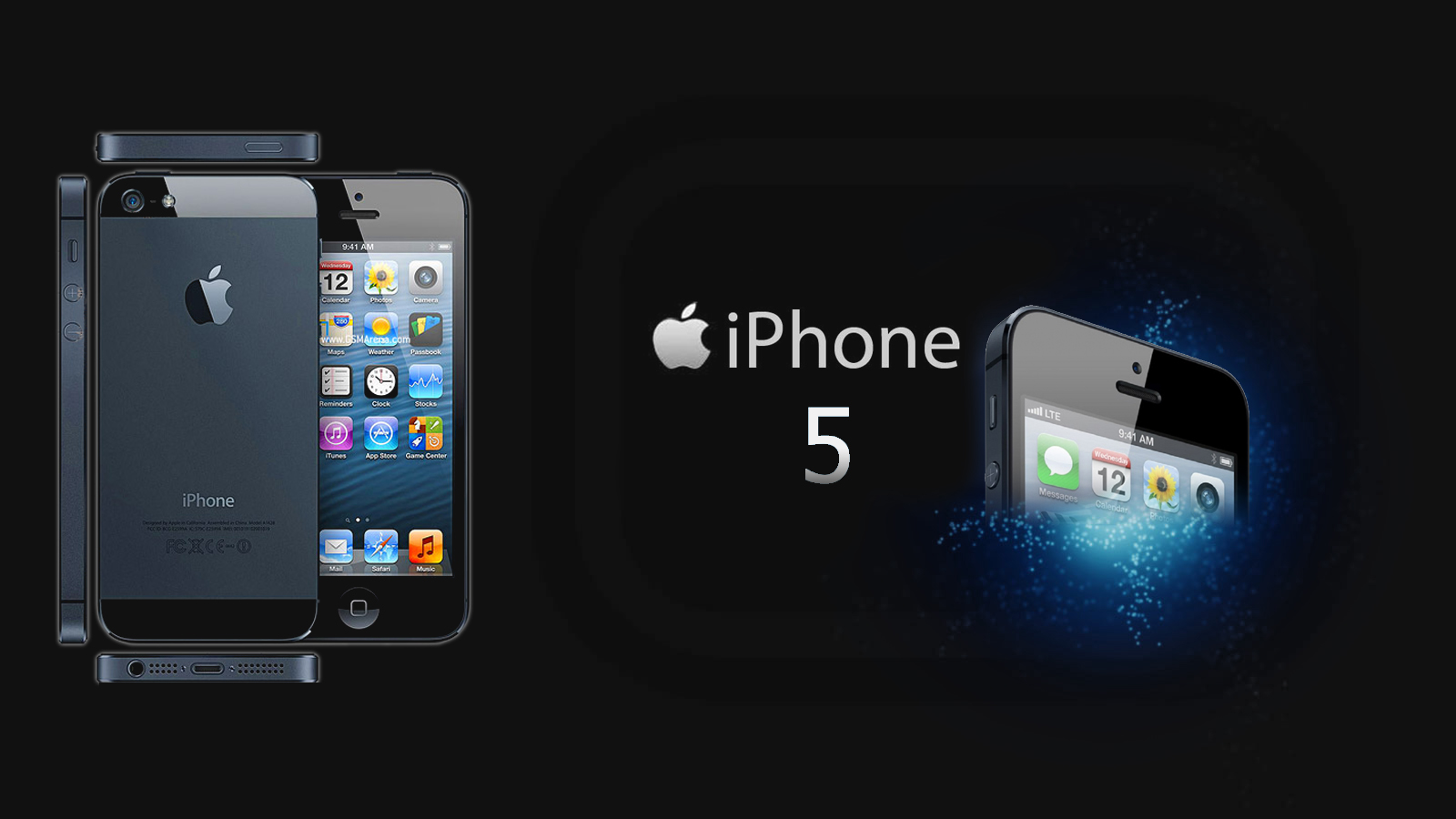 Apple iPhone Wallpapers for New iPhone 5 and iPhone 5S 1600x900