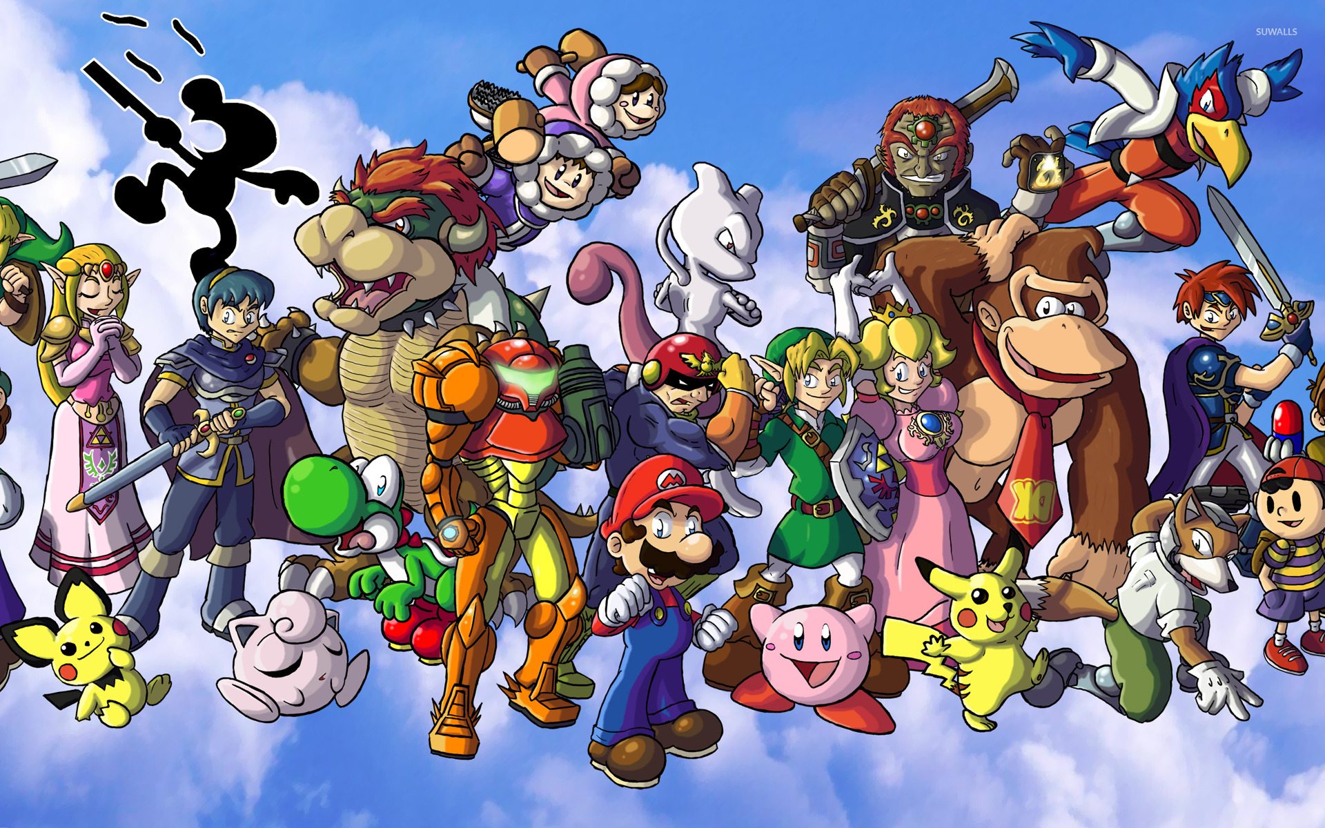 Free Download Super Smash Bros Wallpaper 1026569 1920x1200 For