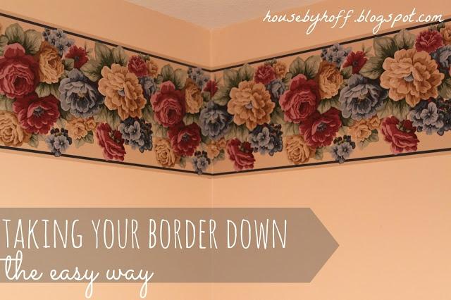 Easy Wallpaper Removal Diy How To Remove Wallpaper Border Wallpaper 640x426