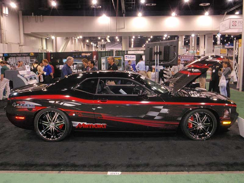 Dodge Challenger Hemi Re Creation Convertible Pictures 800x600