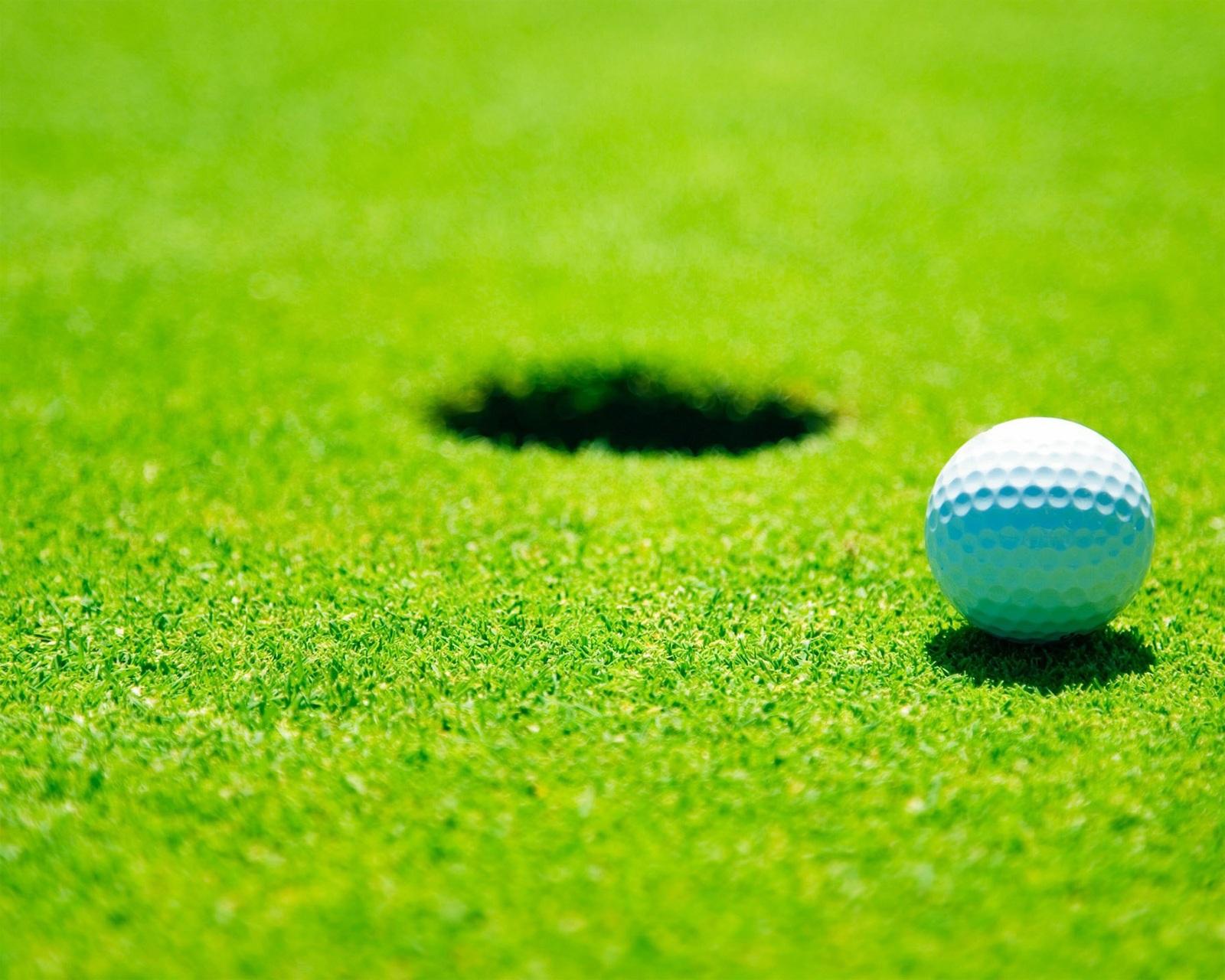 Заставка гольф спорт