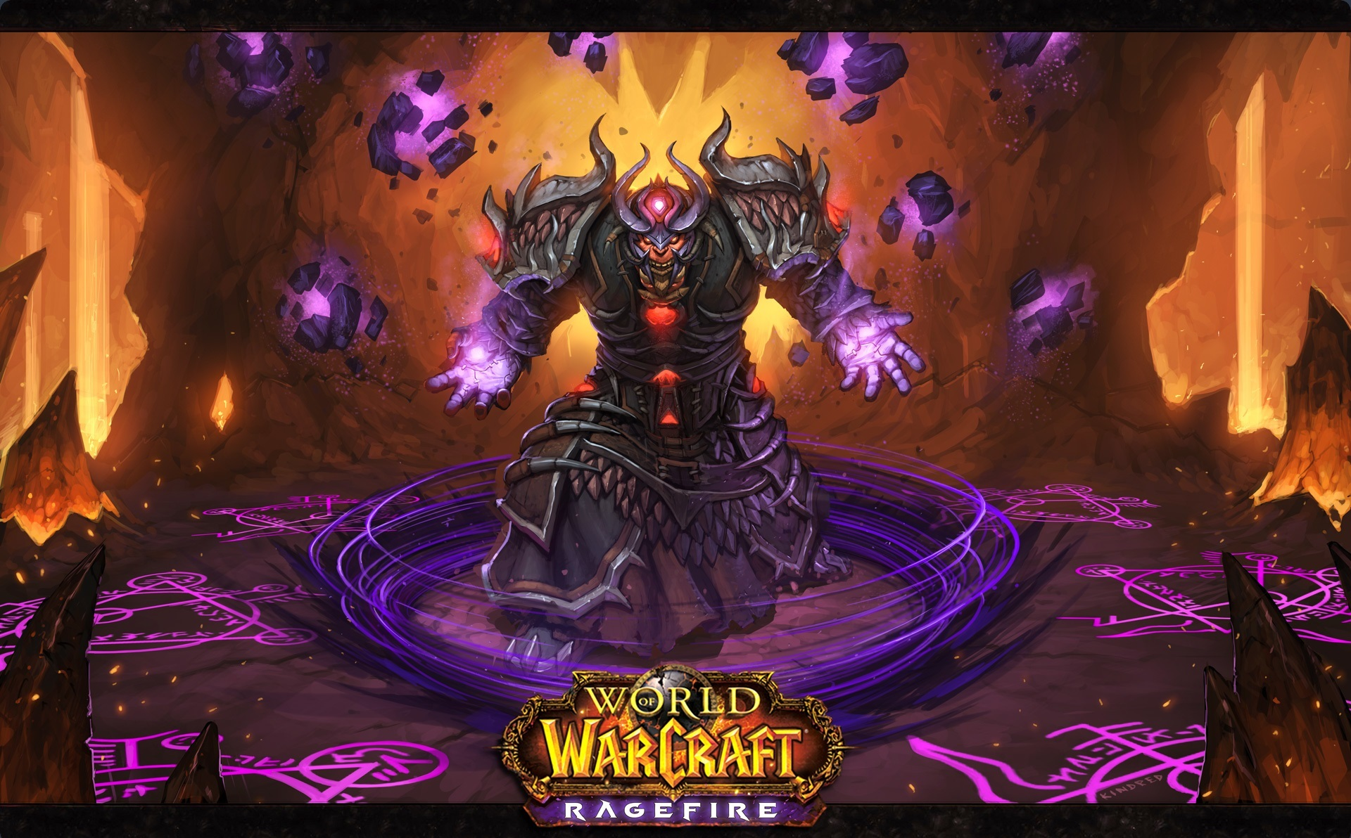 Free Download Wallpaper World Of Warcraft Ragefire Shaman Ork