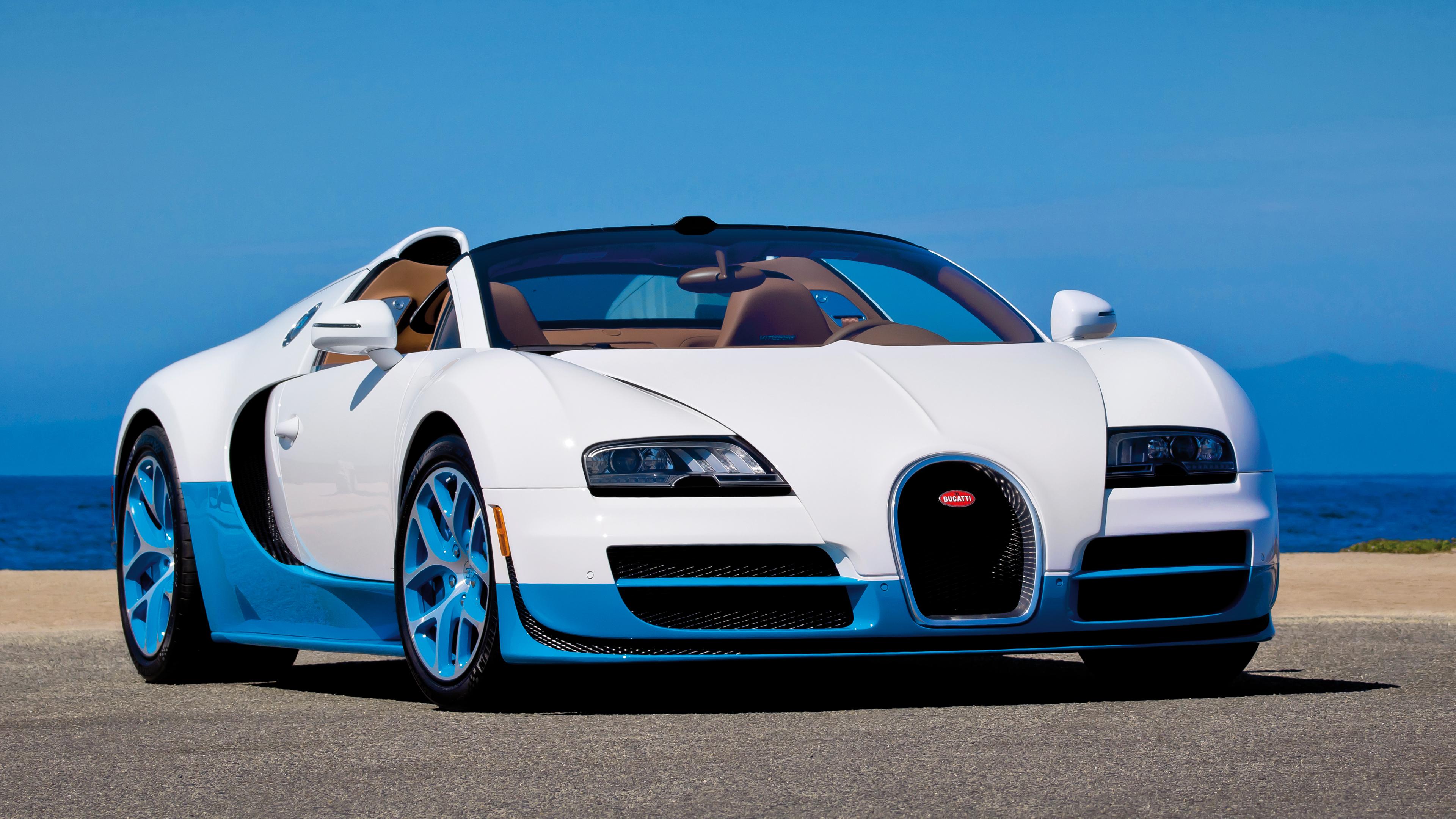 Bugatti Grand Sport Vitesse 4K UHD Wallpaper WallpaperEVO Wallpapers 3840x2160